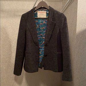Anthropologie Cartonnier Blazer Size 6 grey